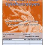 Arrangementsplakat Oransje